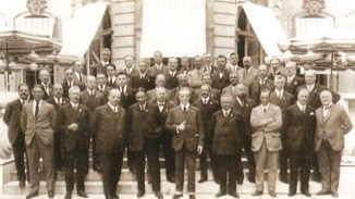 UCI Delegates at the UCI Congress in 1904